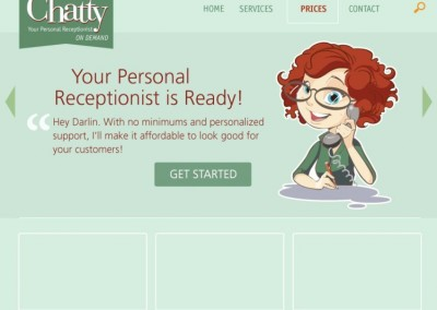 Chatty Receptionist