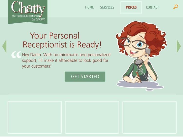 Chatty Receptionist