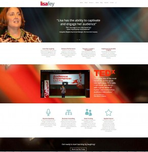 LisaFey.com quickly established Lisa in the competitive arena of sales training and keynote speaking.